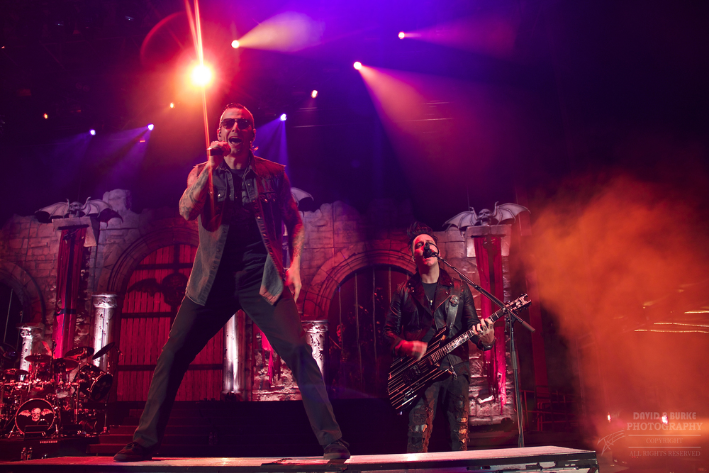 M. Shadow of Avenged Sevenfold (Photo Credit: David Burke)