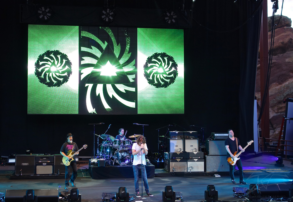 Soundgarden sounding like they did 20 years ago (Photo Credit: David Burke)