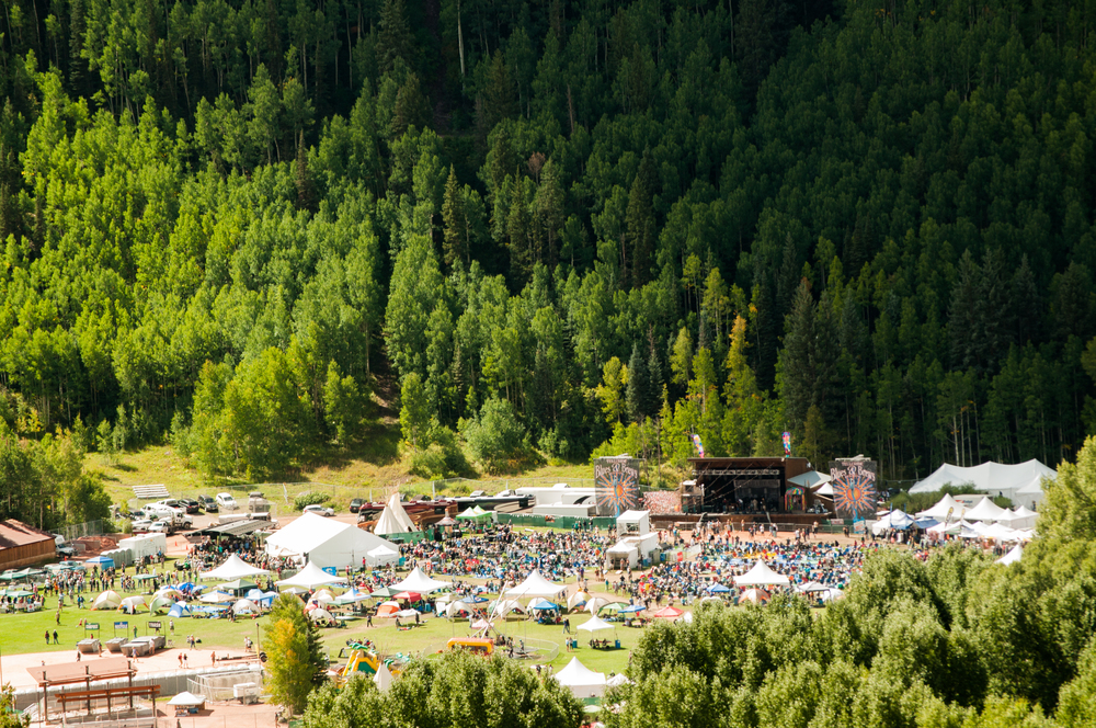 The majestic Telluride Blues and Brews Festival (Photo Credit: Andrew Rios)