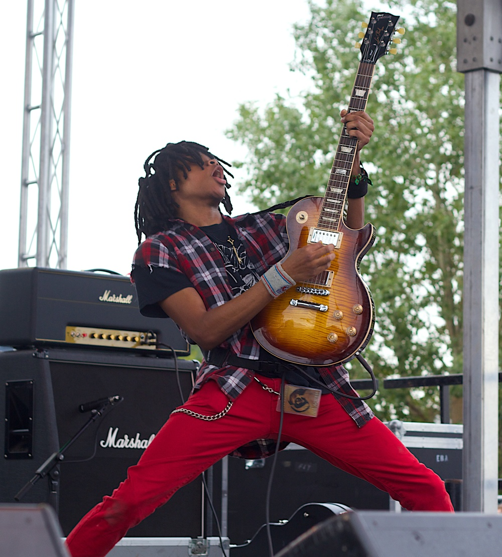 Radkey one of the days surprise sets. (Photo Credit: Robert Castro)