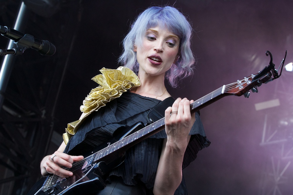 Annie Clark also known as St. Vincent (Photo Credit: Robert Castro)