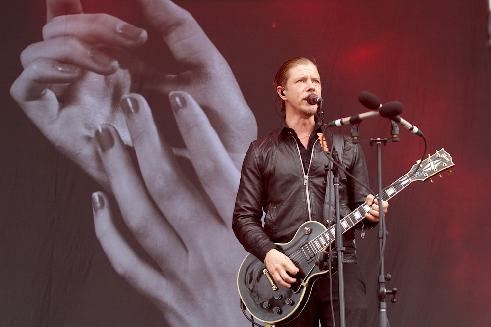 Paul Banks of Interpol (Photo Credit: Robert Castro)
