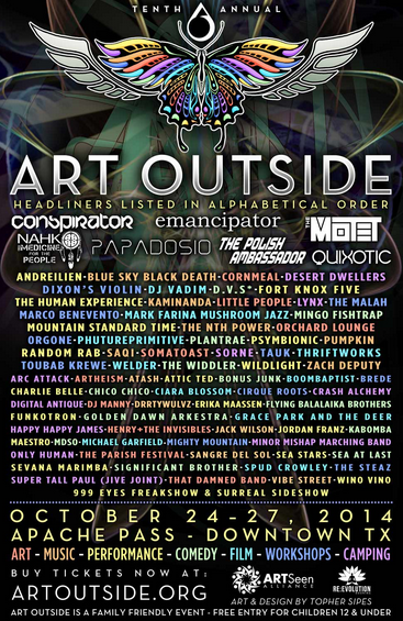 Art Outside Lineup