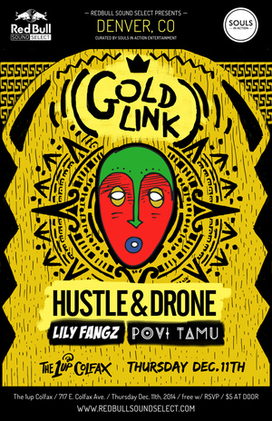 GOLDLINK REPLACES ELLIPHANT DENVER DECEMBER 11TH WITH RED