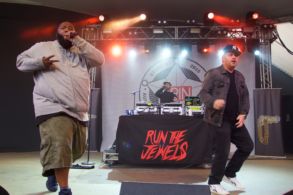 Run The Jewels Ain't Nuttin to Fuck Wit (Photo Credit: Robert Castro)