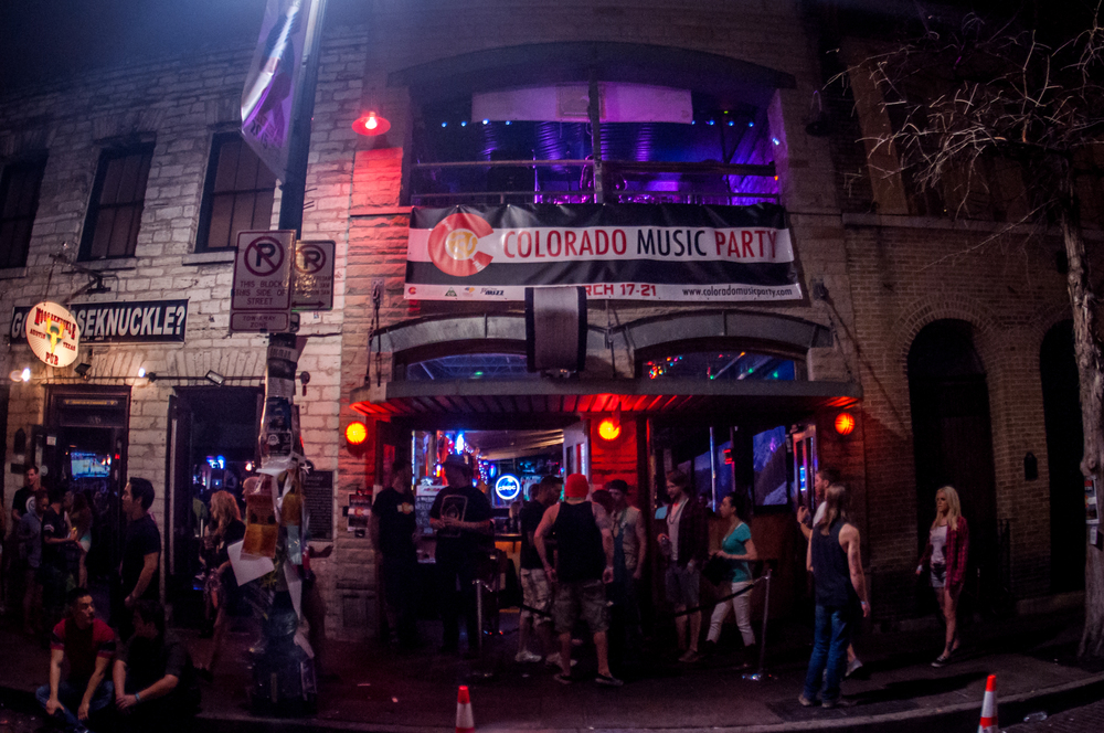 The place to be on SXSW (Photo Credit: Andrew Rios)