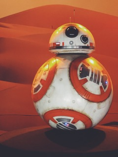 The newest droid in the Star Wars Galaxy BB-8 (Photo Credit: Juan Colmenero)