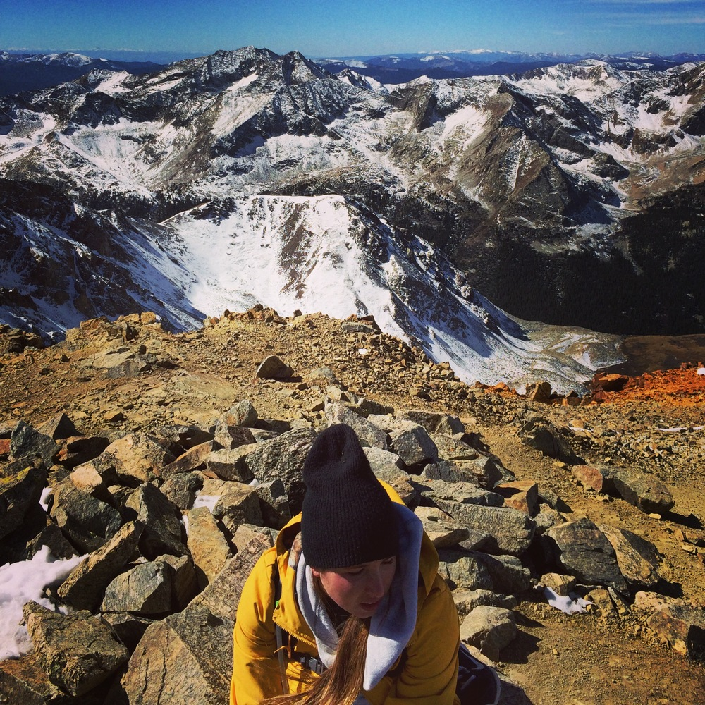 Me on top of Mount Missouri last summer. We plan to hike around 10 this summer and chronicle our journey and provide tips for each mountain!