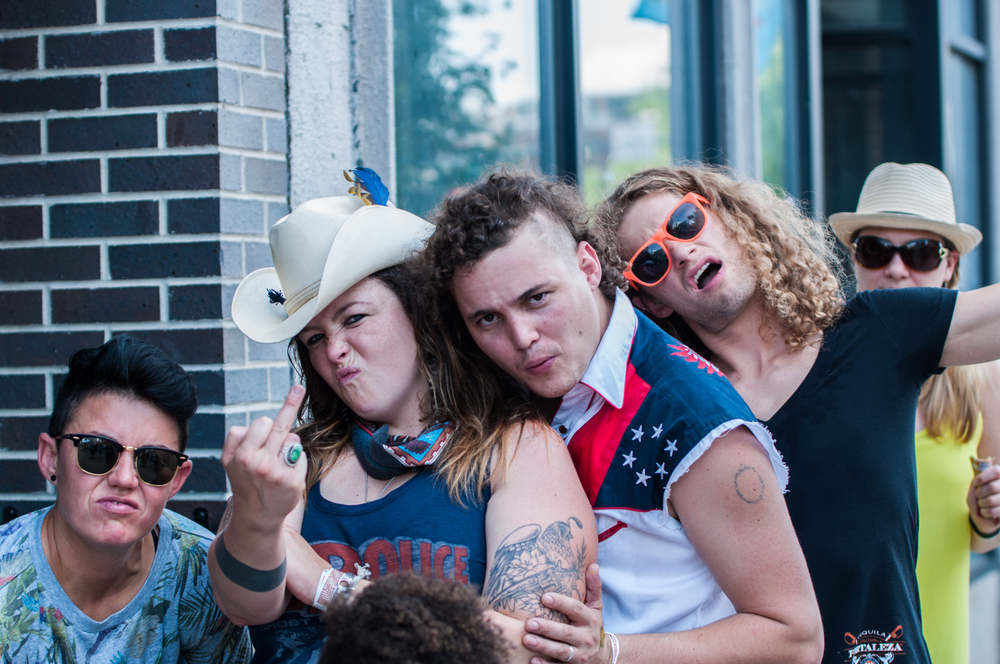 Some local Denver Bad Asses (Photo Credit: Andrew Rios)