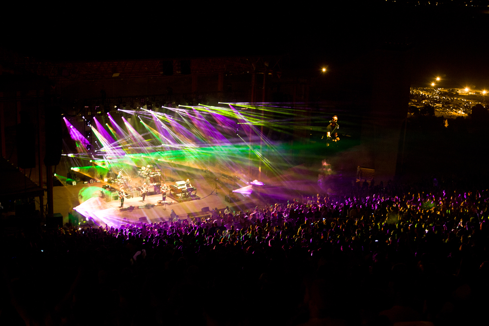 Umphrey's McGee at Red Rocks (Photo Credit: Blake Gavaldon)