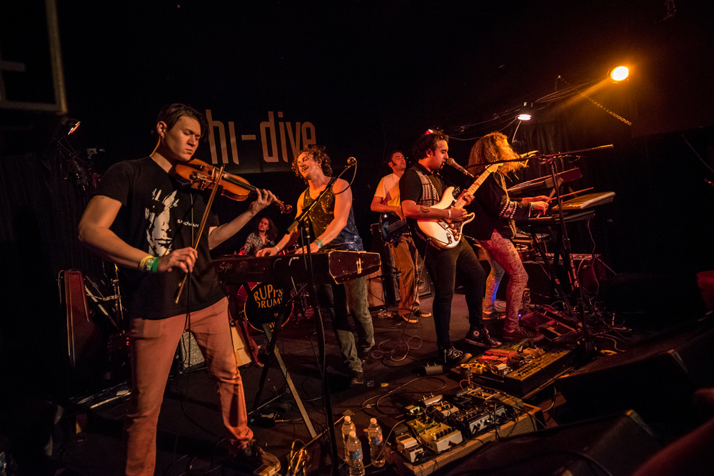Spokezbuzz band Eldren rocking the crowd at UMS (Photo Credit: Andrew Rios)
