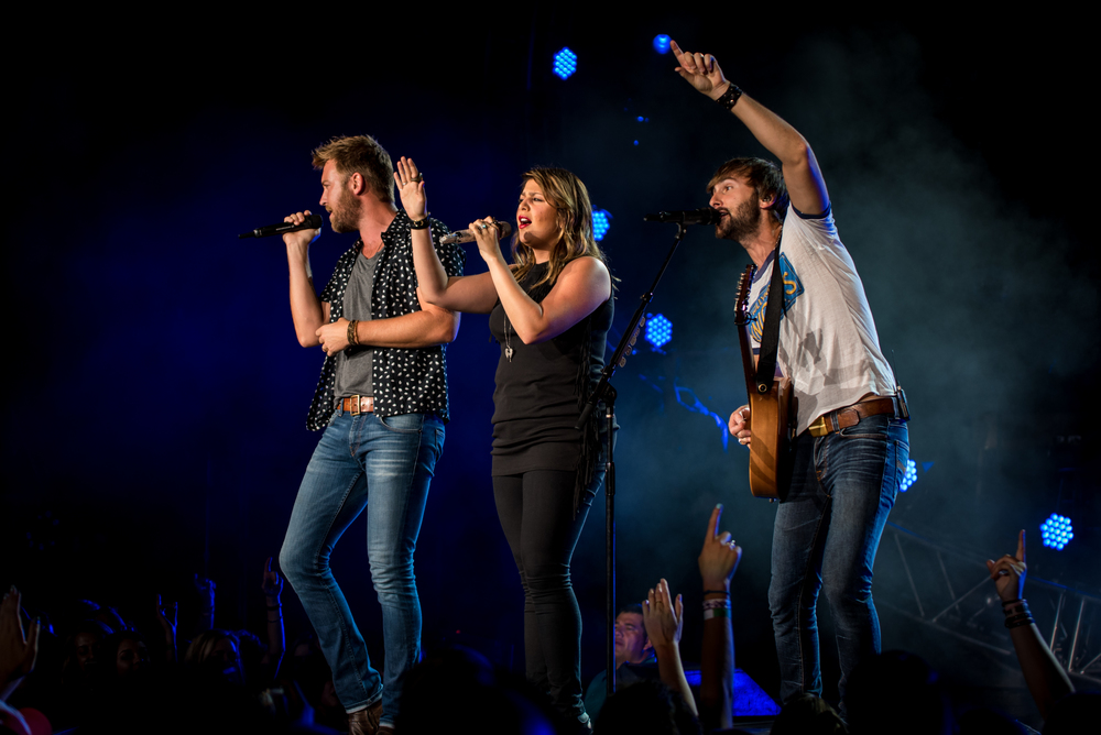Lady Antebellum (Photo Credit: Andrew Rios)