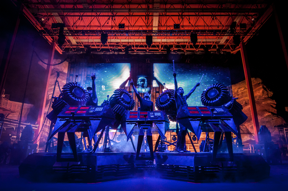 The Glitch Mob (Photo Credit: Andrew Rios)
