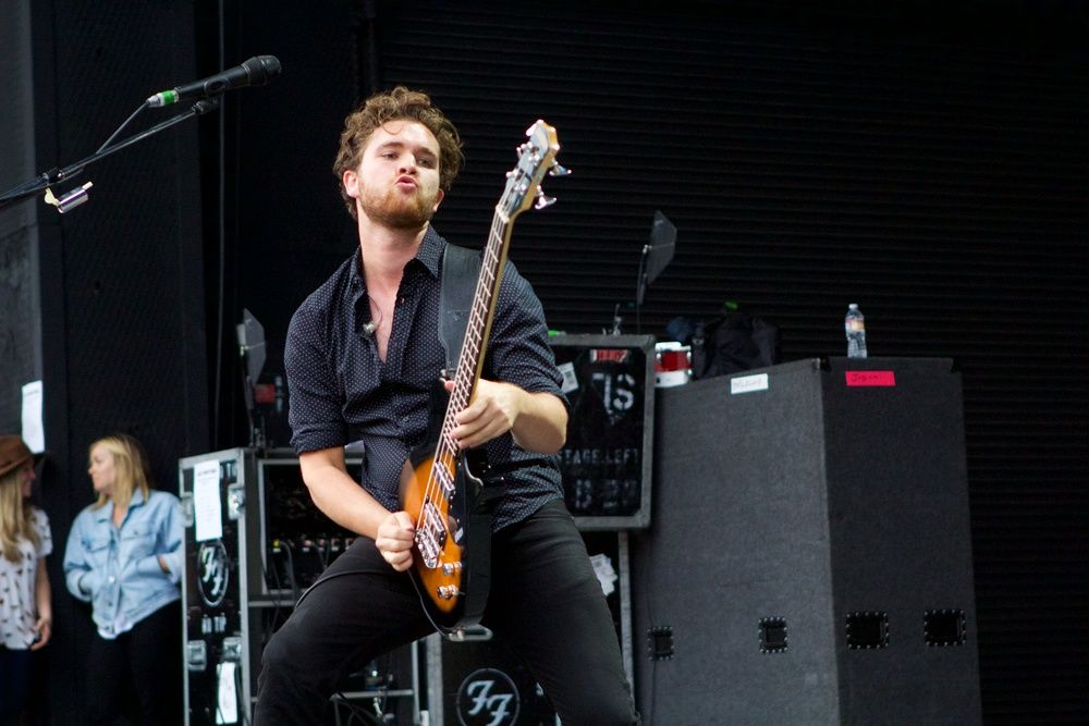 Mike Kerr of Royal Blood (Photo Credit: Robert Castro)