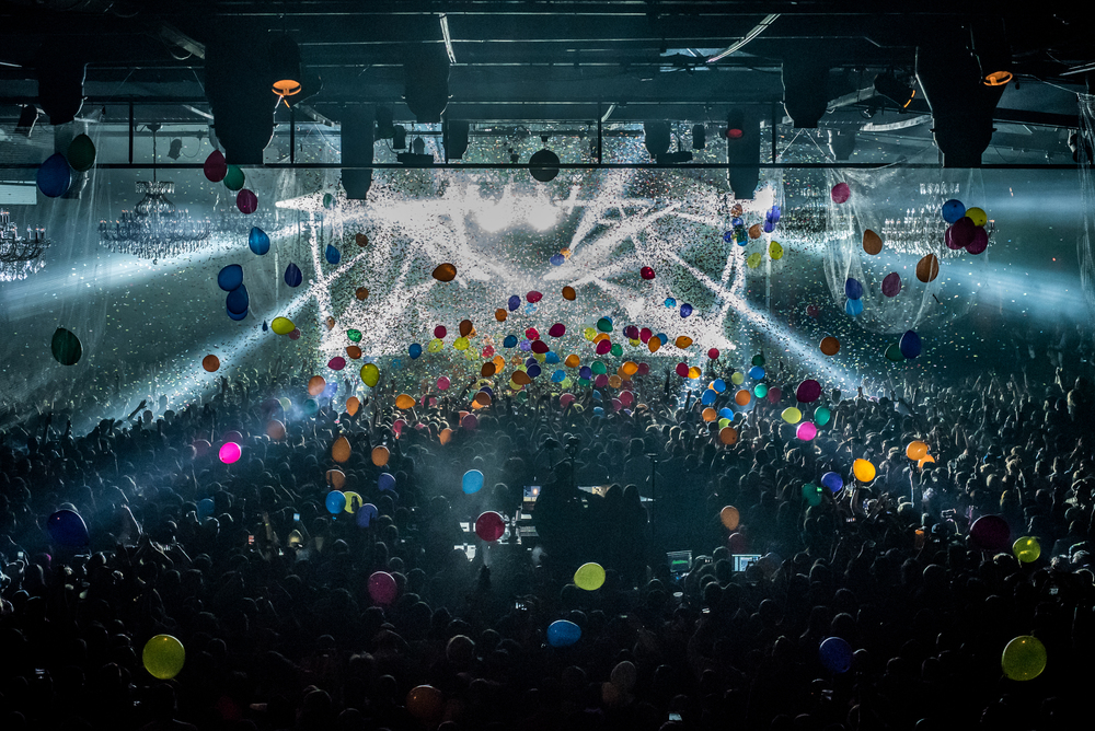ringing in the New Year with Umphrey's McGee (photo credit: Andrew Rios)