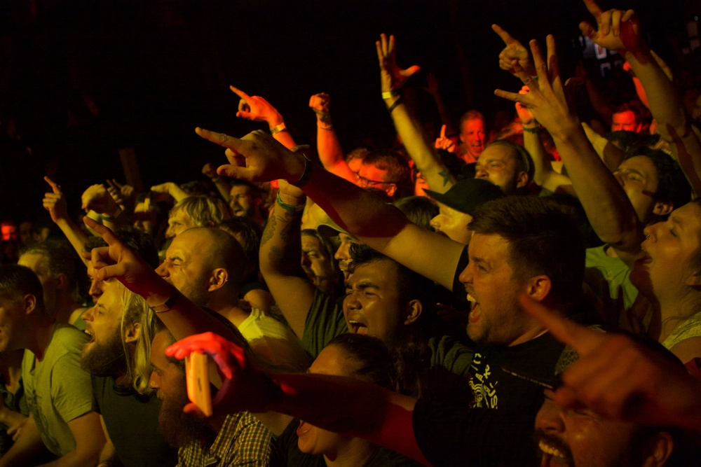 fans literally screaming along to every word (photo credit: Matt Smith/Ultra5280)