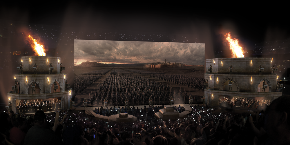 Concept art of Game of Thrones® Live Concert Experience