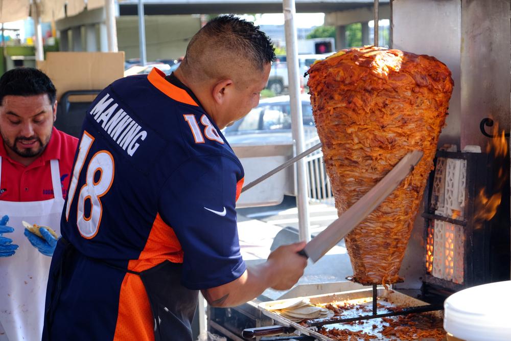 Peyton Manning is enjoying himself after retirement.