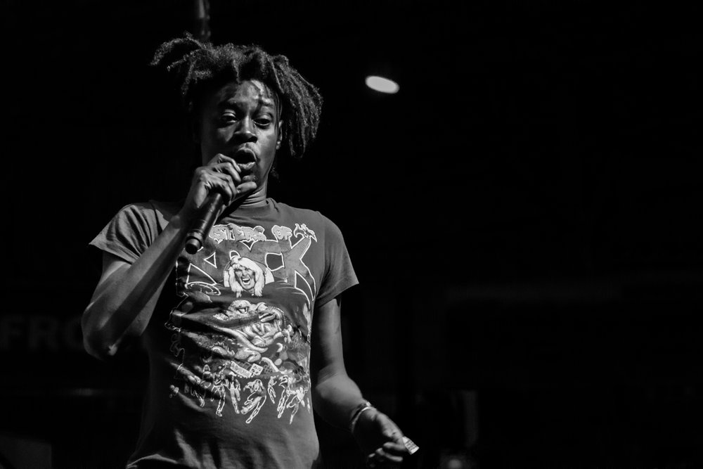 Danny Brown played one of the most hyped sets of the weekend. (Photo Credit: Robert Castro)