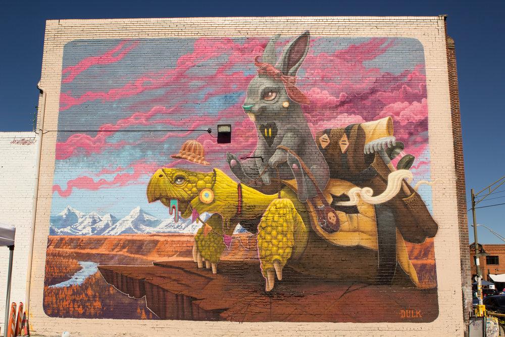 Amazing artwork on display at Colorado Crush (Photo Credit: Robert Castro)