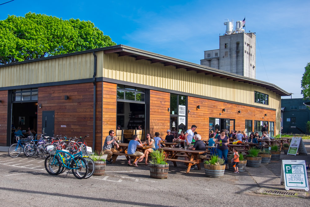 Photo: Oakshire Brewing's Public House in Eugene, OR