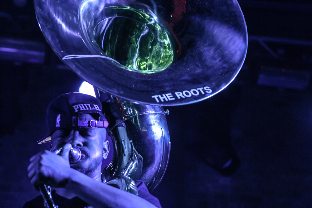 Tuba Gooding Jr. of The Roots (Photo Credit: Robert Castro)