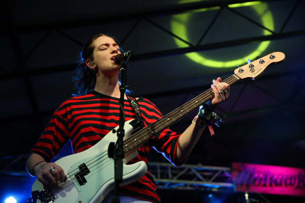 The Big Moon performed House of Vans at Mohawk on March 15, 2017 during SXSW in Austin.