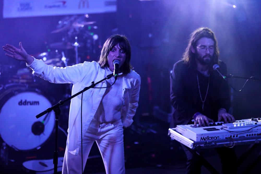 Aldous Harding performed House of Vans at Mohawk on March 17, 2017 during SXSW in Austin.