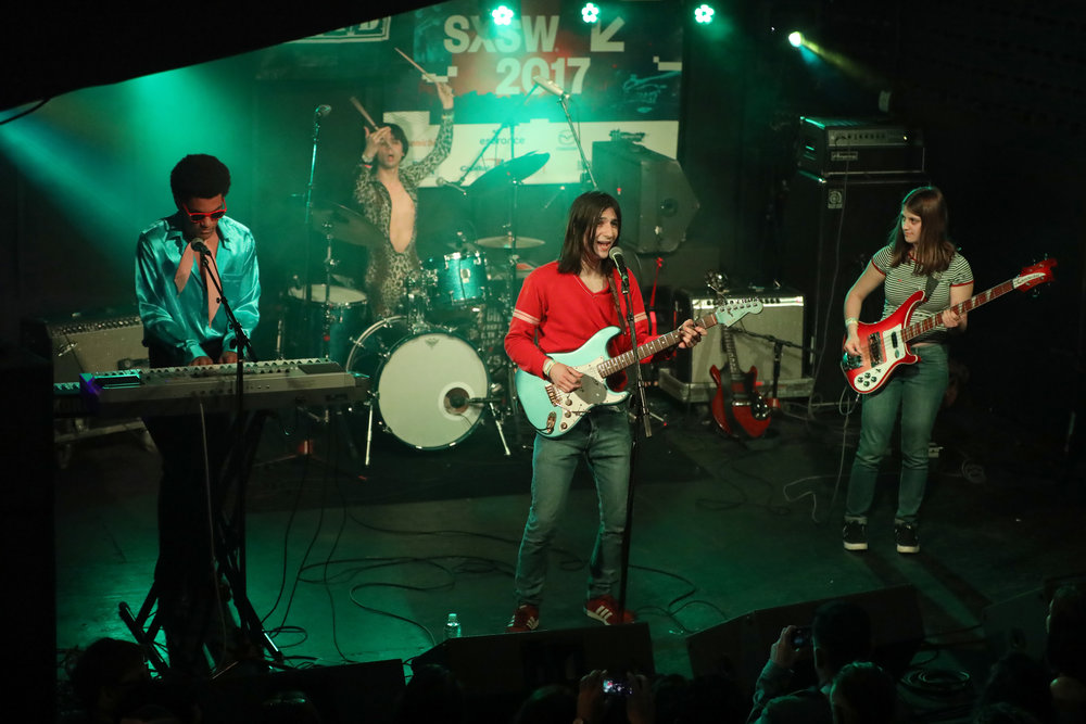 Lemon Twigs performed House of Vans at Mohawk on March 17, 2017 during SXSW in Austin.