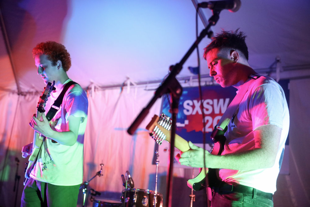 Pizza Time of Denver performed at Hotel Vegas on March 18, 2017 during SXSW in Austin. Photo by Alyson McClaran