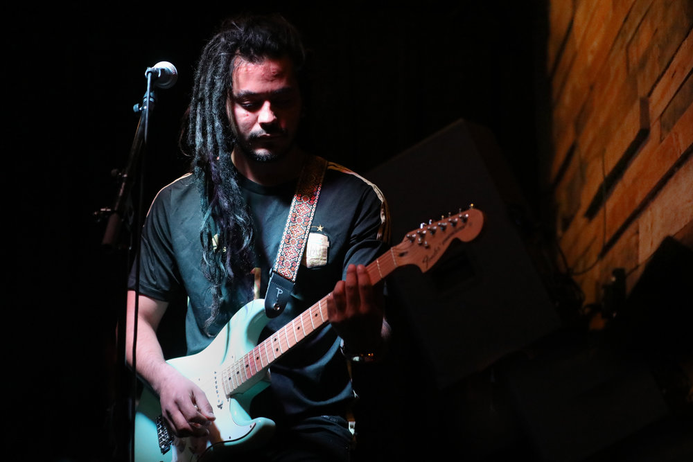 Ulises Cano of Quilombo performed April 26, 2017 at Goosetown Tavern on East Colfax in Denver. Photo by Alyson McClaran