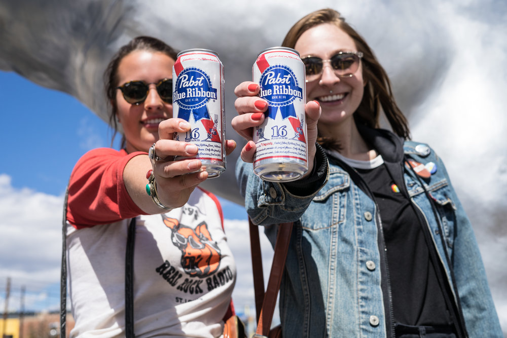 Cheers to Project Pabst (Photo Credit: Robert Castro)