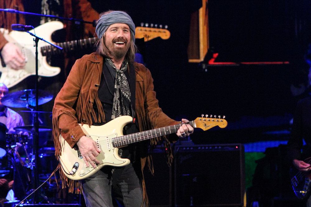 All smiles from Tom Petty (Photo Credit: Robert Castro)