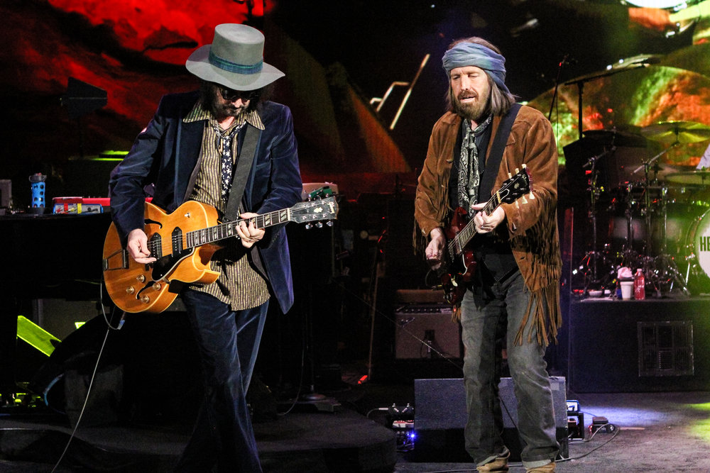Mike Campbell and Tom Petty (Photo Credit: Robert Castro)