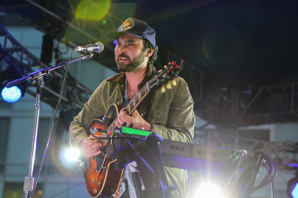 Austin's own Shakey Graves headlined The Westword Music Showcase (Photo Credit: Robert Castro)