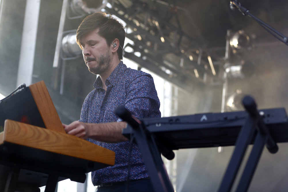 Cut Copy performs at Westword Music Showcase on June 24, 2017 at the Golden Triangle. Photo by Alyson McClaran