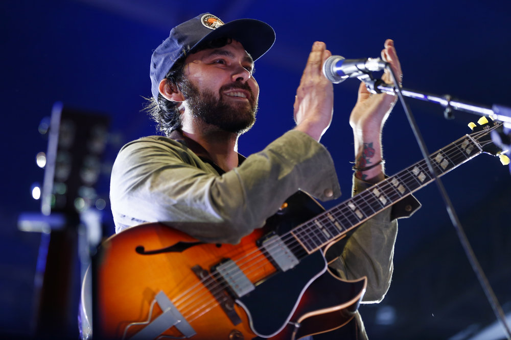 Shakey Graves performs at Westword Music Showcase on June 24, 2017 at the Golden Triangle. Photo by Alyson McClaran