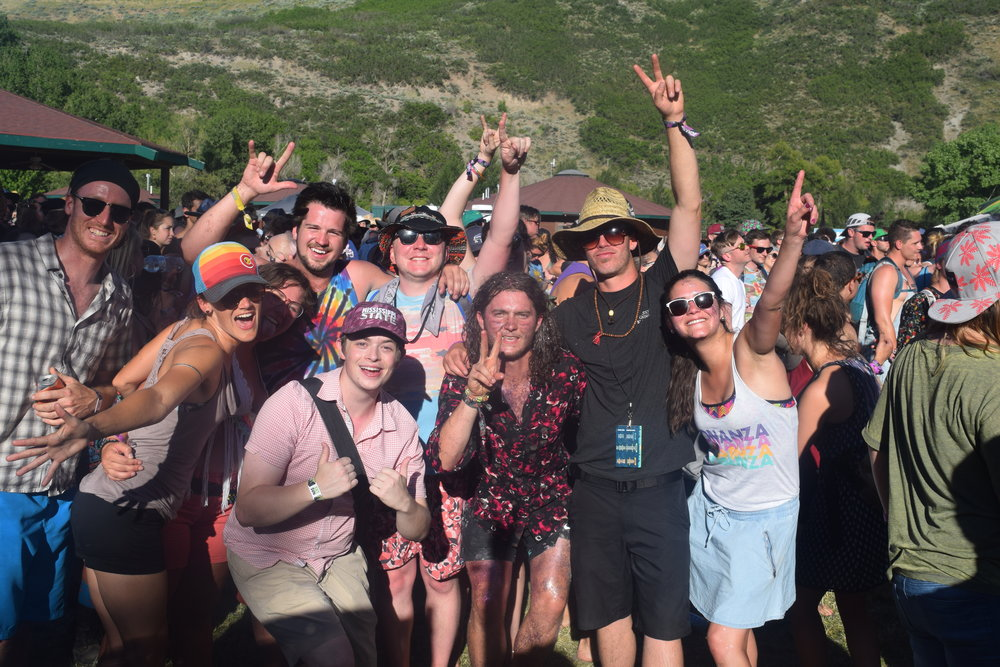 Festival onlookers enjoying the scenery in Utah (Photo credit: Ryan Stephens)