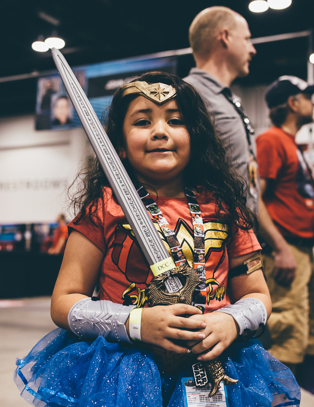 Wonder Woman cosplay was a big hit this year. Photo by Jason Pendleton