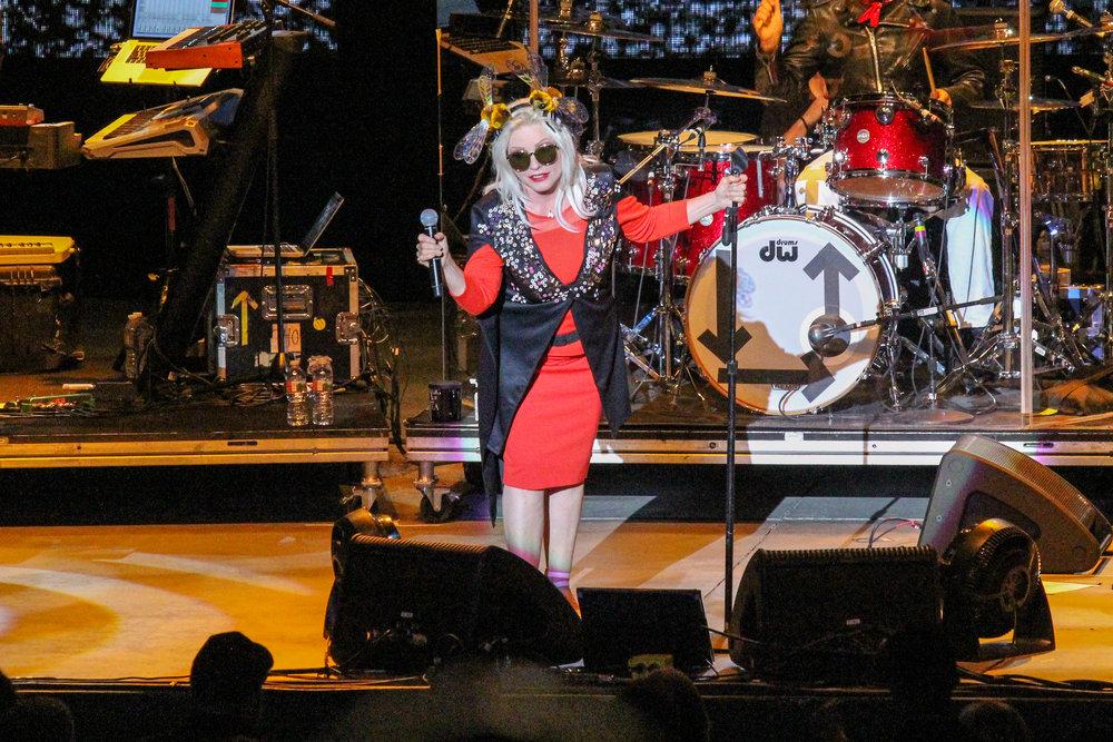 The legendary Debbie Harry of Blondie (Photo Credit: Robert Castro)