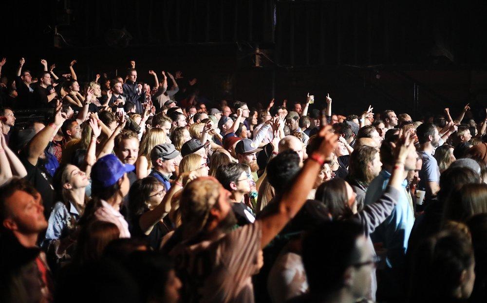 Quite the crowd (Photo Cred: Meesh Deyden)