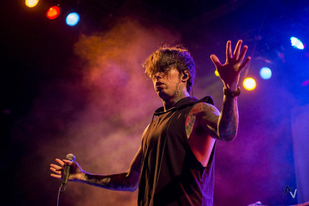 Ronny Radke of Fallen In Reverse (Photo Credit: Austin Voldseth)