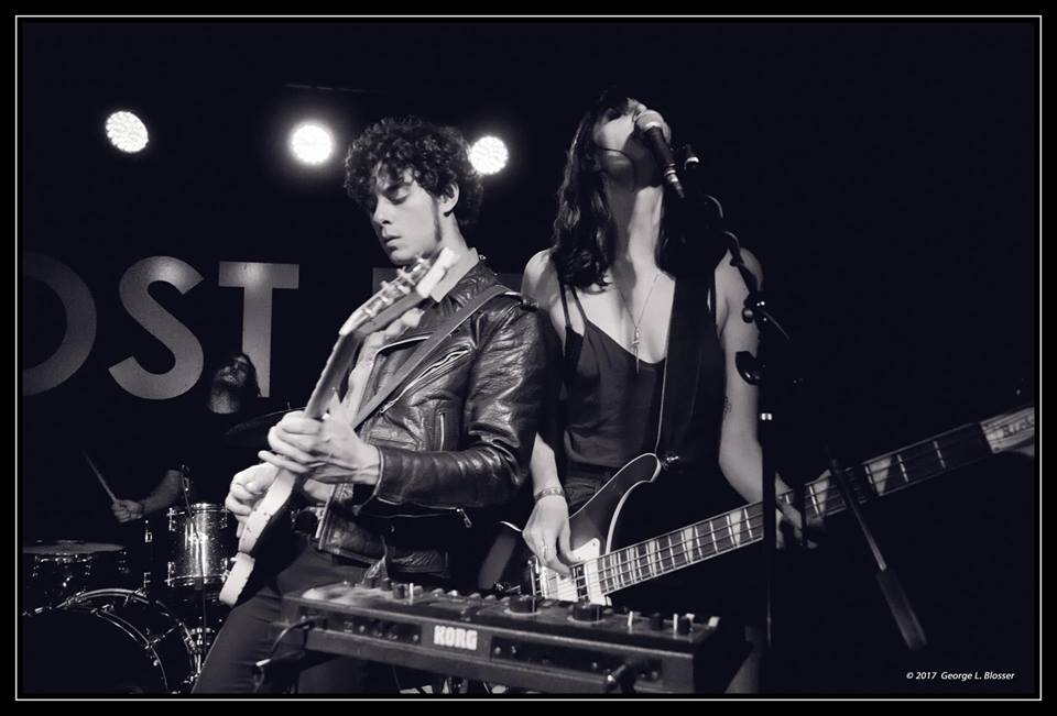 Brother-Sister duo Pink Fuzz (Photo Credit: George Blosser)