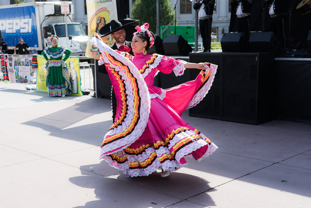The proud traditions of the latino culture were on display. (Photo Credit: Robert Castro)