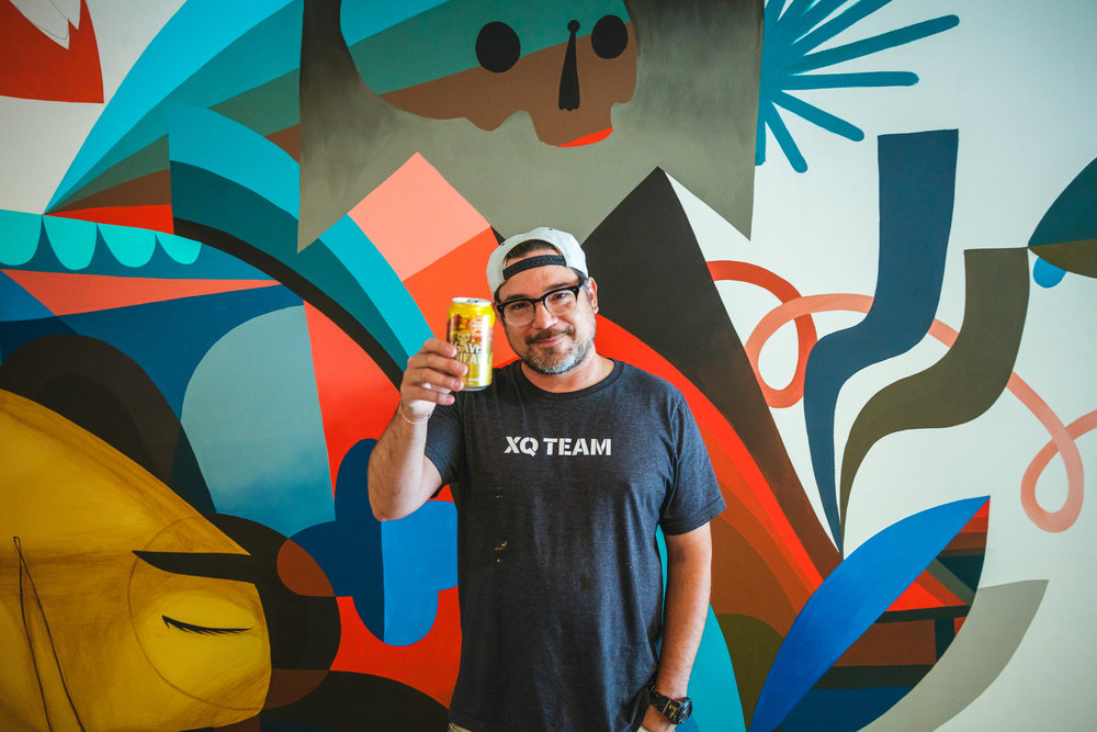 Artist Jaime Molina.