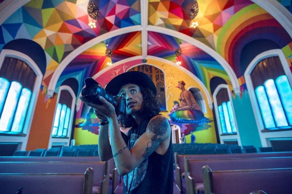Inside the International Church of Cannabis  Photo by Nicole Harrington