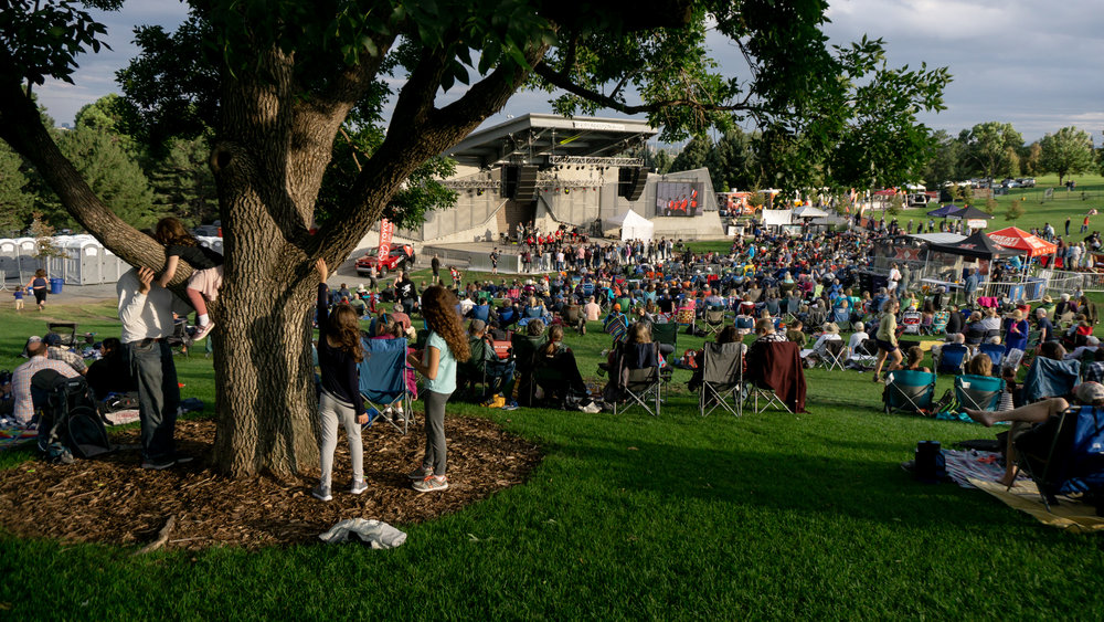 The beautiful Levitt Pavilion (Photo courtesy: Joel Rekiel)