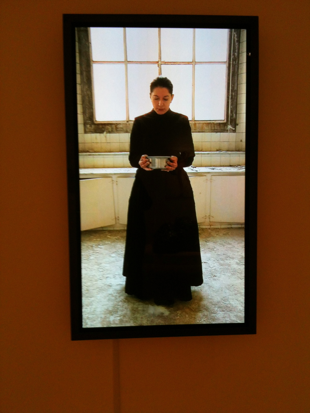 Kitchen V Carrying the Milk by Marina Abramovic  Photo: Cia Mooney