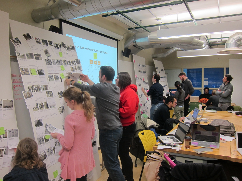 Our recent class at SAIC designing a new elementary school cafeteria.