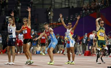 Relay 4x400m Oscar Pistorius